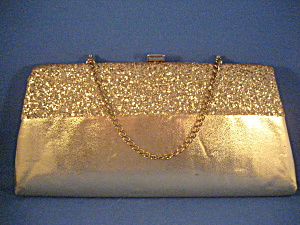 Gold Sequin Clutch Purse (Image1)