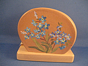 Wooden Napkin Holder From Alaska