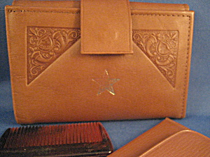 Eastern Star Leather Wallet