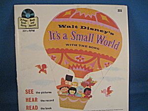 It's A Small World Record And Book