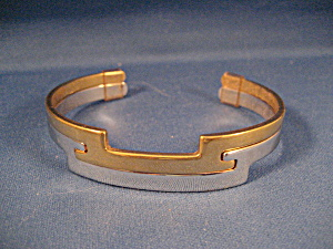Avon Silver And Gold Bracelet