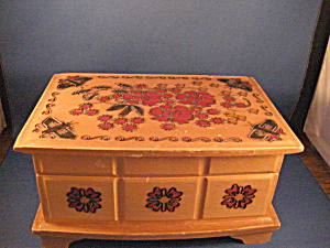 Painted Jewely Box