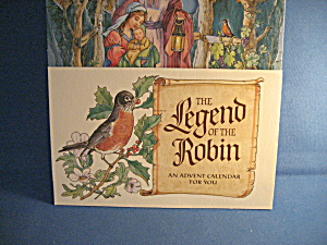The Legend Of The Robin Advent Calendar