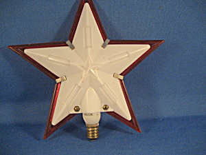 Electrical Star Tree Top