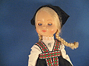 Hard Plastic Doll From Germany