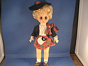 Hard Plastic Doll From Scotland