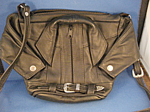 Leather Jacket Purse