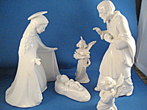 Rare 1950 Goebel Nativity Scene