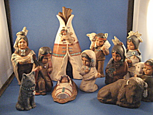 American Indian Nativity Scene