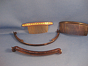 Vintage Headbands And Combs