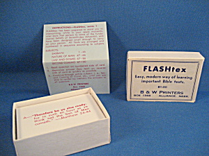 Very Old Religious Flash Cards