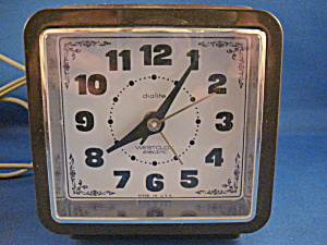1960 Westclock Electric Alarm Clock
