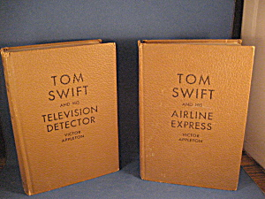 Two Tom Swift Novels By Victor Appleton
