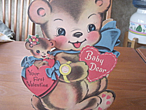 1951 Baby Dear First Valentine (Image1)
