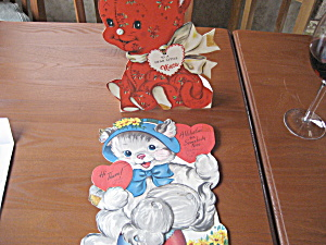Two 1952 Valentines