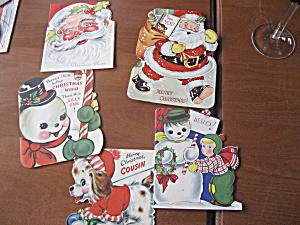 Five 1952 Christmas Cards (Image1)
