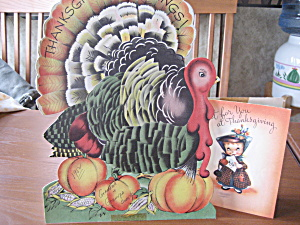 Thanksgiving Greetings Turkey And Just For You Cards