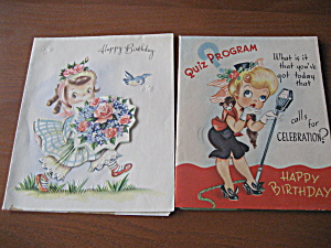 1953 Birthday Cards (Image1)