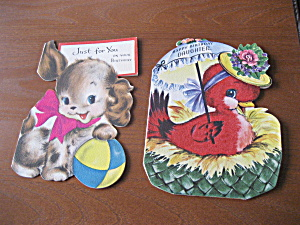 Two 1953 Birthday Cards (Image1)