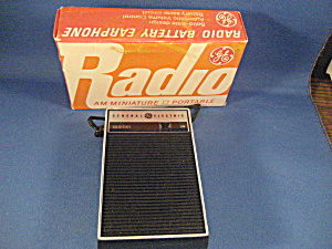 General Electric Transistor Radio