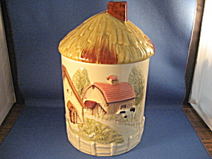Farm Scene Cookie Jar