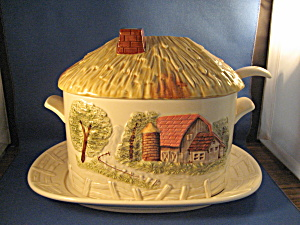Farm Scene Soup Tureen (Image1)
