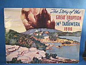 The Story Of The Great Eruption Of Mt Tarawera 1886