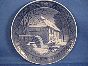 1976 Royal Copenhagen Water Mill Collector Plate