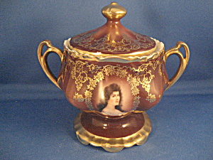 Royal Vienna Sugar Bowl (Image1)
