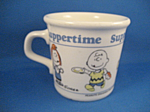 Peanuts Suppertime Cup