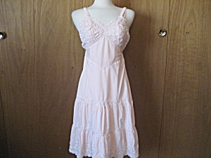 Pink Cotton Slip