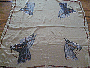 Horse Silk Scarf (Image1)