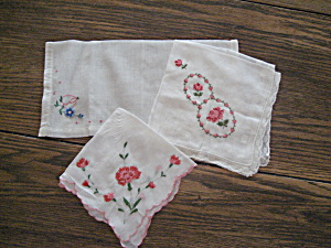 Three Handkerchiefs