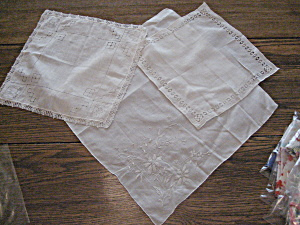 Three White Handkerchiefs (Image1)