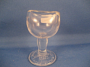 John Bull Eye Wash Glass