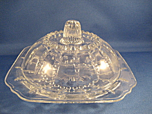 Federal Columbia Butter Dish
