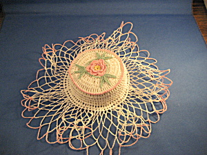 Hand Made Doily Pin Cushion