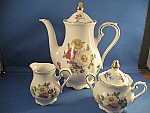 Small Bavarian Coffee Set
