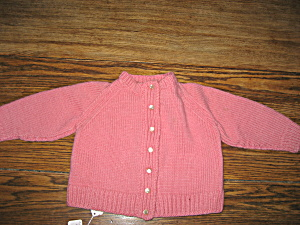 Hand Made Child's Sweater