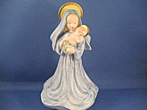 Mary And Baby Jesus Music Box