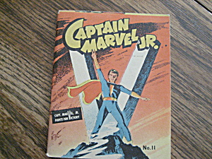 Captain Marvel Jr Comic Book