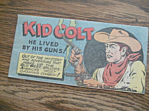 Kid Colt Promotion Comic
