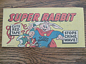 Super Rabbit Promotion Comic