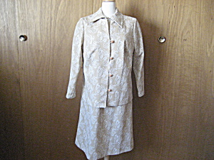 Montgomery Ward Shift Dress And Jacket