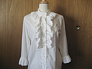 Judy Bond Ruffle Blouse