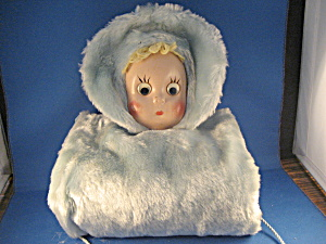Child's Doll Face Muff