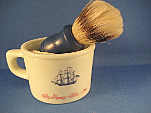 Old Spice Shaving Mug And Brush