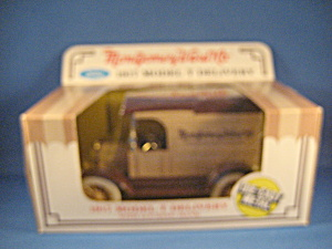 Ertl Montgomery Ward Co 1917 Model T Bank