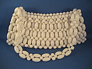 White Beaded Purse (Image1)