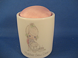 Precious Moments Mother Sew Dear Pincushion
